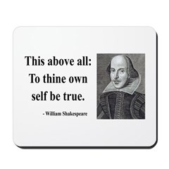 Shakespeare 5 Mousepad