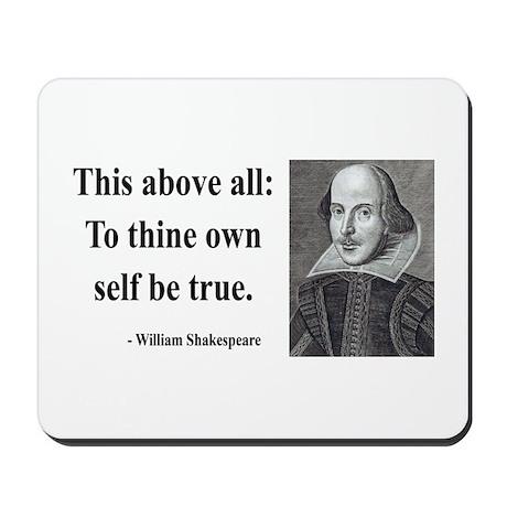 Shakespeare 5 Mousepad