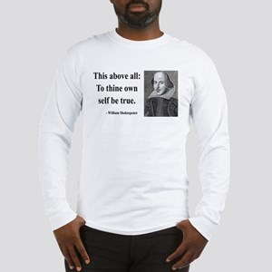 Shakespeare 5 Long Sleeve T-Shirt
