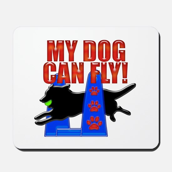 My Dog Can Fly Mousepad