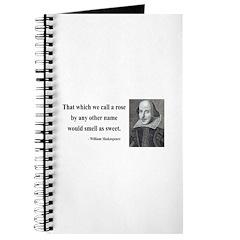 Shakespeare 6 Journal