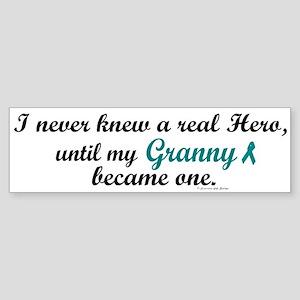 Never Knew A Hero OC (Granny) Bumper Sticker