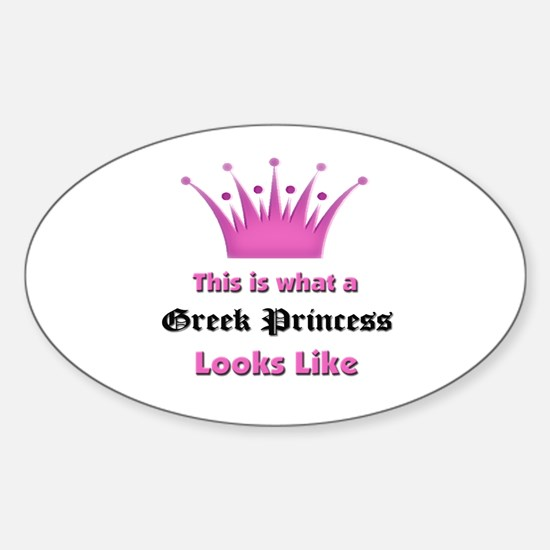 This is what an Greek Princess Looks Like Decal