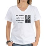 Shakespeare 9 Women's V-Neck T-Shirt