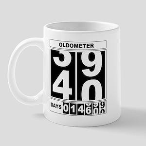 40th Birthday Oldometer Mug