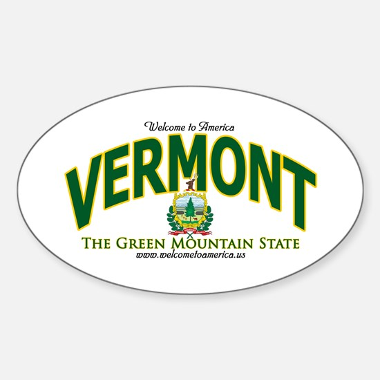 Vermont Oval Decal