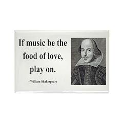 Shakespeare 10 Rectangle Magnet (100 pack)
