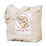 Anti Vday Tote Bag