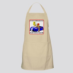If you're gonna ride my ass BBQ Apron