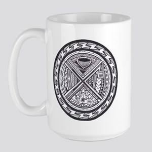 sacred center tattoo seal Large Mug