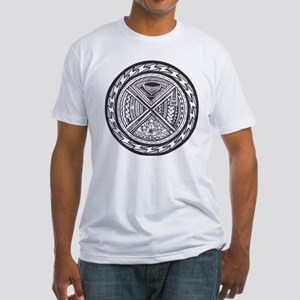 sacred center tattoo seal Fitted T-Shirt