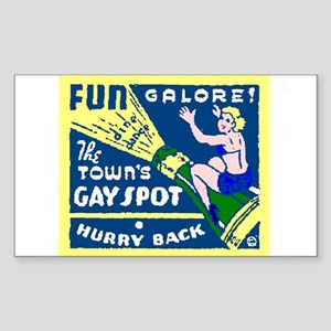 Fun Galore! - Rectangle Sticker