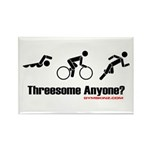 """""""Threesome Anyone?"""" Rectangle Magnet (10 pack)"""
