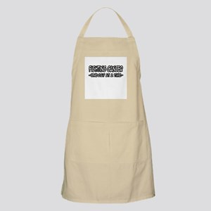 """Fighting Cancer, One Day at a Time"" BBQ Apron"