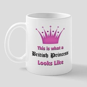 This is what an British Princess Looks Like Mug