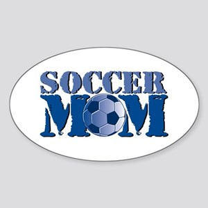 Soccer Mom Sticker (Oval)