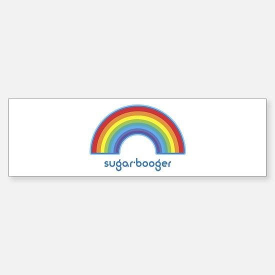 sugar-booger (rainbow) Bumper Bumper Bumper Sticker