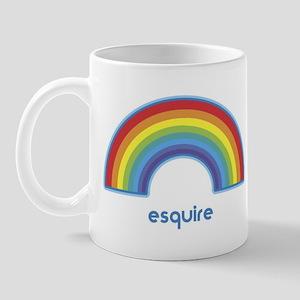 esquire (rainbow) Mug