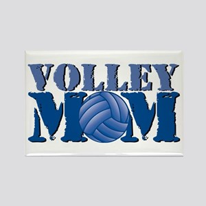 Volley Mom Rectangle Magnet