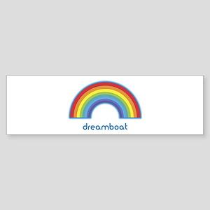 dreamboat (rainbow) Bumper Sticker