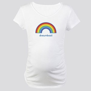 dreamboat (rainbow) Maternity T-Shirt