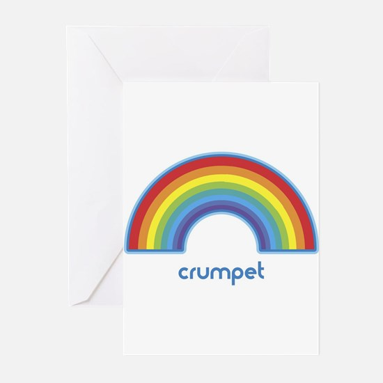 crumpet (rainbow) Greeting Cards (Pk of 10)