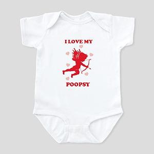 POOPSY (cherub) Infant Bodysuit