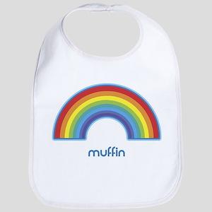 muffin (rainbow) Bib