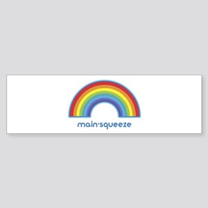 main-squeeze (rainbow) Bumper Sticker