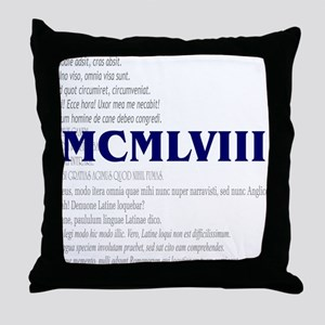 50th Gifts Throw Pillow