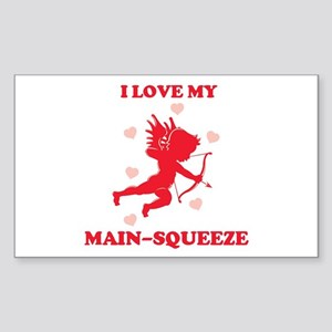 MAIN-SQUEEZE (cherub) Rectangle Sticker