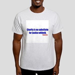 Saint Augustine Quote Ash Grey T-Shirt