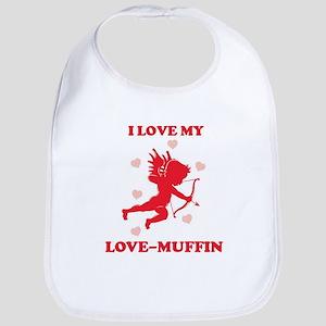 LOVE-MUFFIN (cherub) Bib
