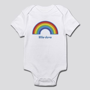 little-dove (rainbow) Infant Bodysuit
