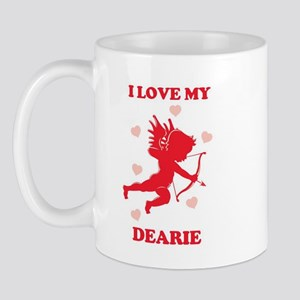 DEARIE (cherub) Mug