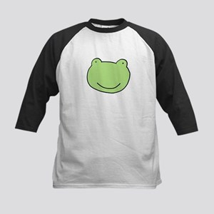 """Jebadiah Frog"" Kids Baseball Jersey"