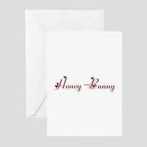 Honey-Bunny (hearts) Greeting Cards (Pk of 10)