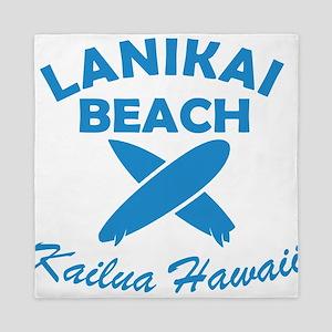 lanikai beach Queen Duvet