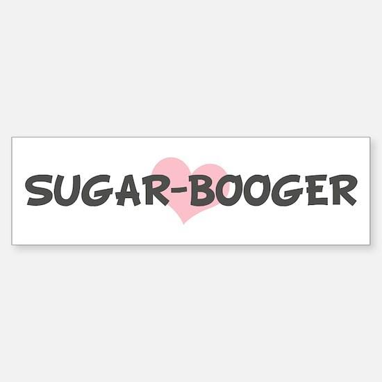 SUGAR-BOOGER (pink heart) Bumper Bumper Bumper Sticker