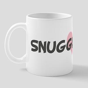 SNUGGLE-BEAR (pink heart) Mug