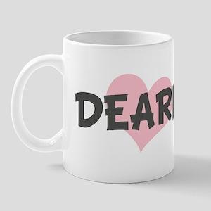 DEARIE (pink heart) Mug