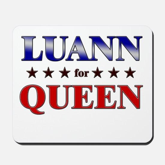 LUANN for queen Mousepad