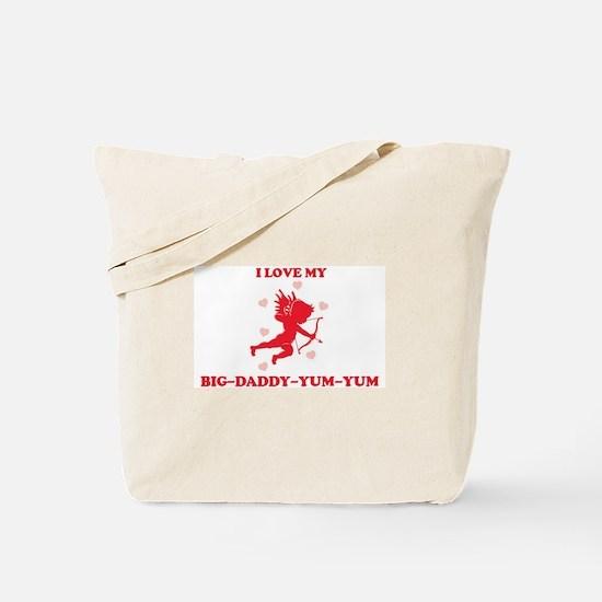 BIG-DADDY-YUM-YUM (cherub) Tote Bag