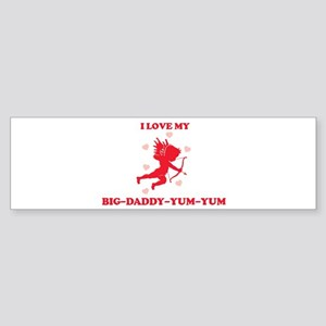 BIG-DADDY-YUM-YUM (cherub) Bumper Sticker