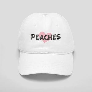 PEACHES (pink heart) Cap