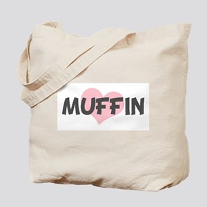 MUFFIN (pink heart) Tote Bag