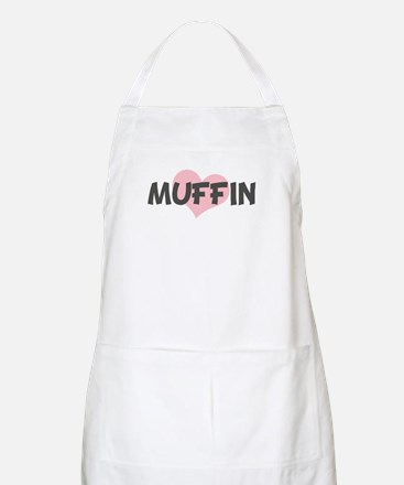 MUFFIN (pink heart) BBQ Apron