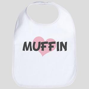 MUFFIN (pink heart) Bib
