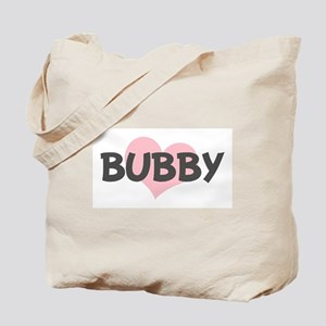 BUBBY (pink heart) Tote Bag