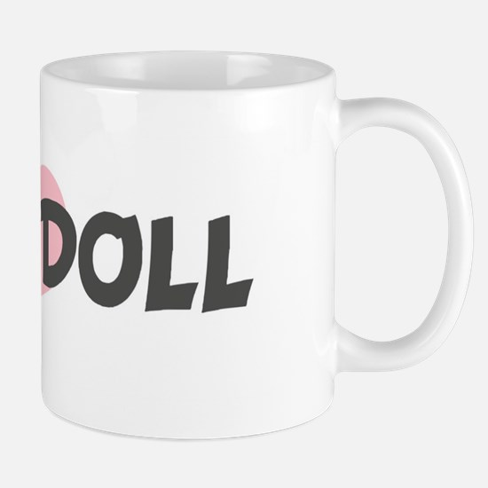 BABY-DOLL (pink heart) Mug